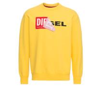 Sweatshirt 's-Samy' gelb / rot / schwarz