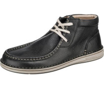 Pasadena Freizeit Schuhe weit schwarz