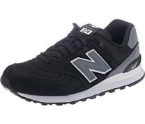 Sneakers 'ml574 D' grau / schwarz