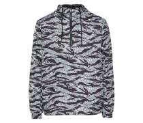 Jacke zum überziehen grau / schwarz