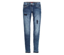 Skinny Suri: Superstretch-Jeans blue denim