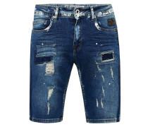 Jeansshorts 'Navito' blau