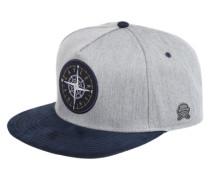 Cap mit Kompass grau