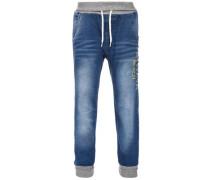 Loose-Fit Jeans 'nitbern' blau