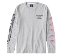Shirt schwarz / rot / grau