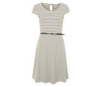 Jersey-Kleid 'Vmvigga' weiß