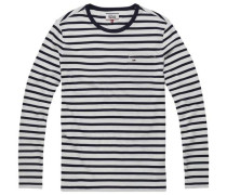 Hilfiger Denim T-Shirt »Thdm EUR CN Striped Knit L/S 1«