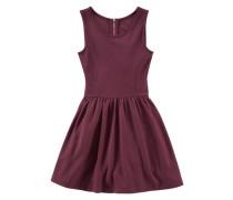 Jerseykleid für Mädchen burgunder