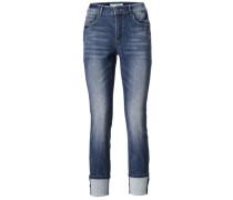 Bodyform-7/8-Jeans blau