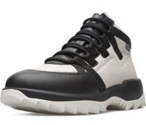 Sneaker ' Helix ' hellgrau / schwarz