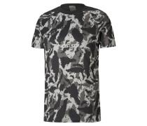 x First Mile Camo Herren Training T-Shirt
