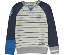 Sweatshirt für Jungen dunkelblau / grau