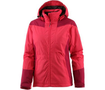 'Lara' Funktionsjacke Damen cranberry