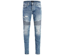 Slim Fit Jeans 'glenn Cross 045' blau