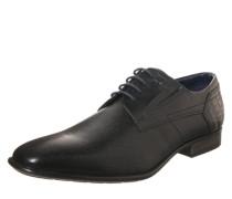 Klassischer Schnürschuh schwarz