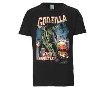 T-Shirt Godzilla - King Of The Monsters schwarz