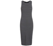 Ärmelloses Midi-Kleid schwarz
