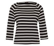 Pullover 'Ciresi' schwarz / weiß