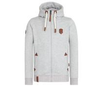 Zipped Jacket 'Muzzy Spitzbubi II' grau