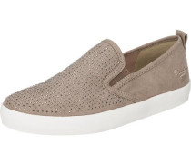 Slipper taupe
