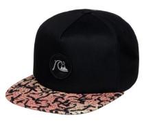 Snapback Cap »Engraver« schwarz