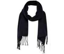 Fransen-Schal nachtblau