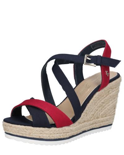 Sandale navy / rot