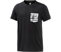 Kai & Sunny Pocket T-Shirt Herren schwarz