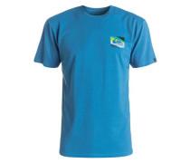T-Shirt 'Box Knife' blau