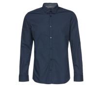 Langarmhemd 'Floyd' blau
