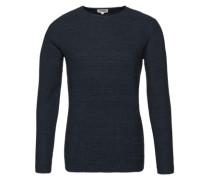 Pullover 'RH structur' dunkelblau