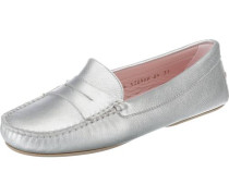 Loafers silber