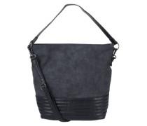 Hobo Bag in Wildleder-Optik 'Carla' navy