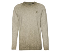 Shirt 'Classic raglan r t l/s' dunkelgrün