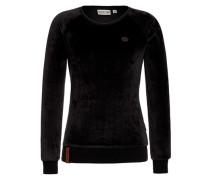Female Sweatshirt MDH schwarz