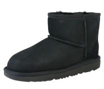 Snow Boots 'Classic mini II' schwarz