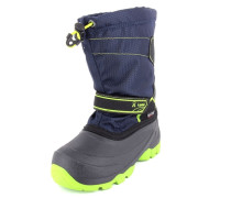 Stiefel Snowcoast Nylon blau / grün