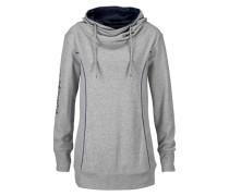 Kapuzensweatshirt marine / grau