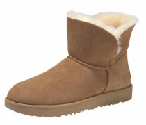 Winterboots 'Classic Cuff Mini' kastanienbraun