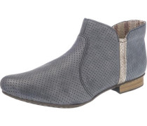 Leichte Ankle Boots blau
