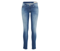 'skinzee-Low-S' Skinny Jeans 084Iy blue denim