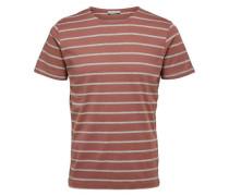 T-Shirt Rundhalsausschnitt rot