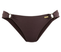 Bikini-Hose kastanienbraun