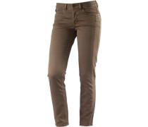 Jona Skinny Fit Jeans Damen grün