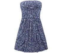 Kleid 'thdw Basic Strapless Dress 50' blau