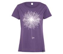 T-Shirt 'Blowball' lila