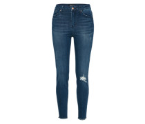 Destroyed Jeans 'pearl' blue denim