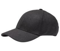 Woll Cap schwarz