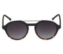 Sonnenbrille 'Harper' braun / dunkelbraun / schwarz