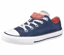 Sneaker »Chuck Taylor All Star Double Tongue Ox« dunkelblau